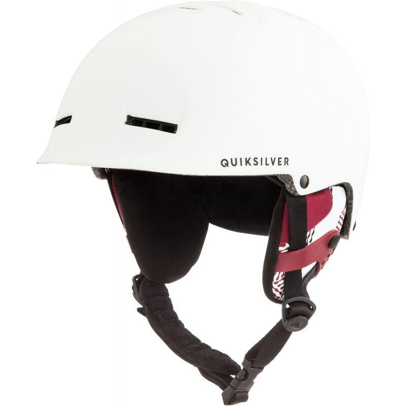 Bílá pánská lyžařská helma Quiksilver - velikost 62 cm
