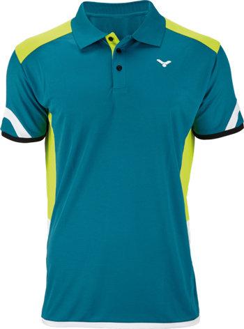 Modré pánské funkční tričko s krátkým rukávem Victor - velikost S