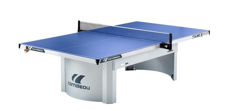 Modrý venkovní stůl na stolní tenis PRO 510, Cornilleau