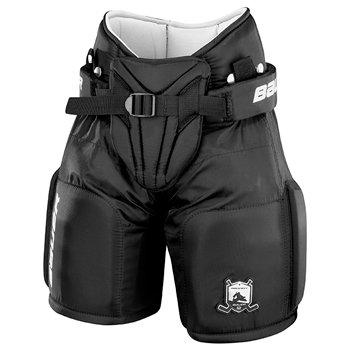 Černé brankářské hokejové kalhoty (dítě) Bauer - velikost S-M