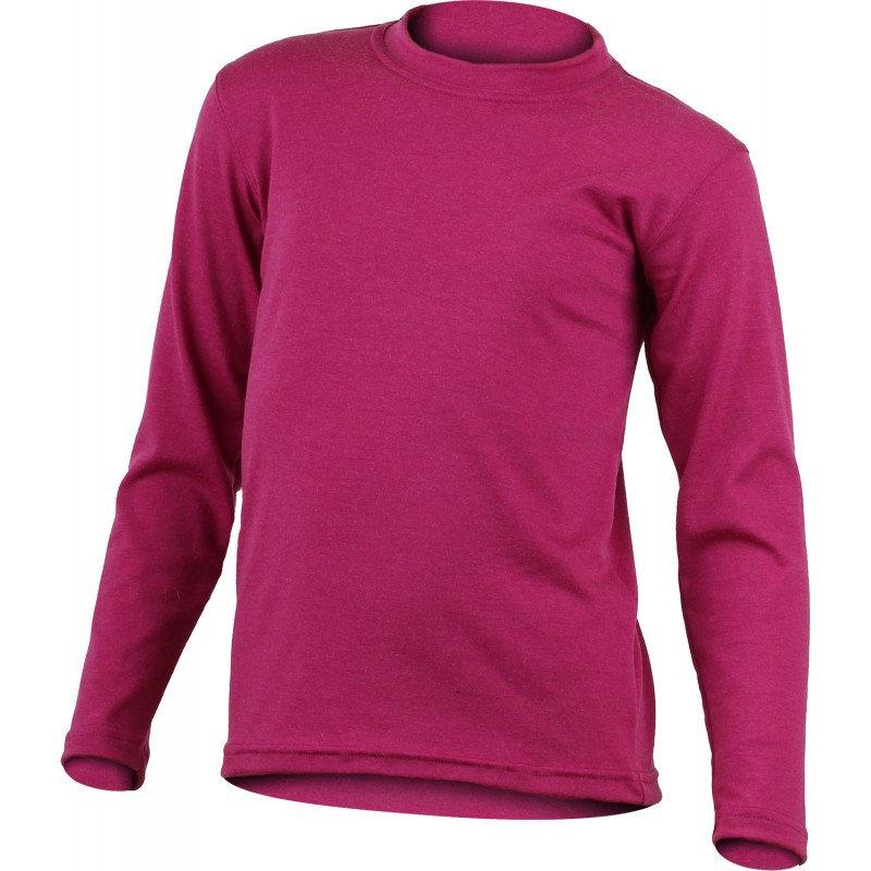 Růžové dívčí funkční tričko s dlouhým rukávem Lasting