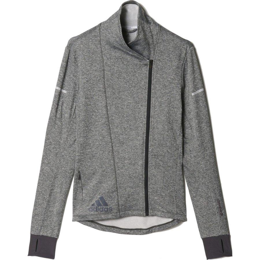 Černá dámská běžecká mikina Sq Cht Wrap W, Adidas - velikost XS