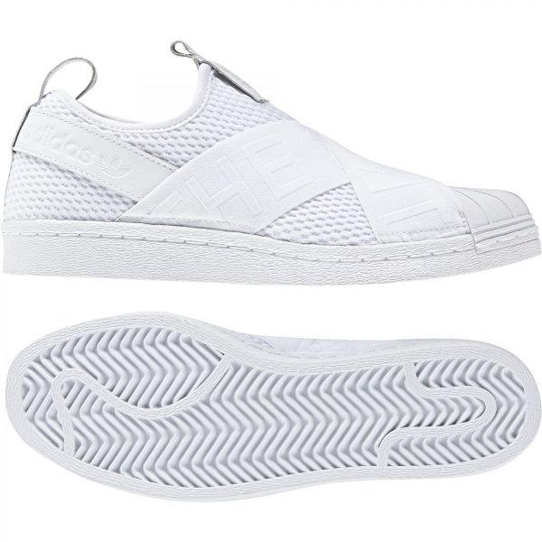 Bílé dámské tenisky Superstar, Adidas - velikost 37 EU
