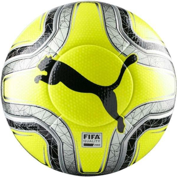 Žlutý fotbalový míč Puma