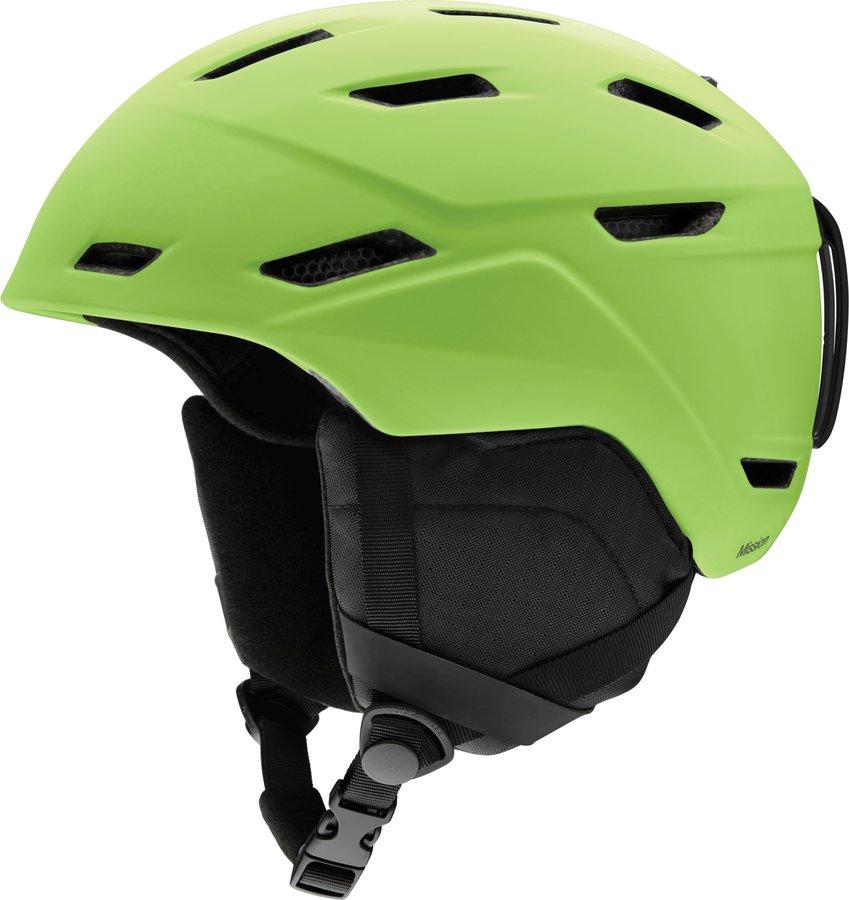 Zelená pánská helma na snowboard Smith - velikost 59-63 cm