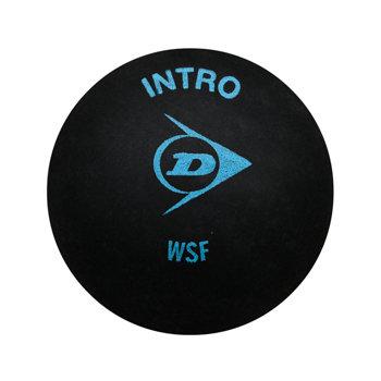 Modrý míček na squash Dunlop - 1 ks