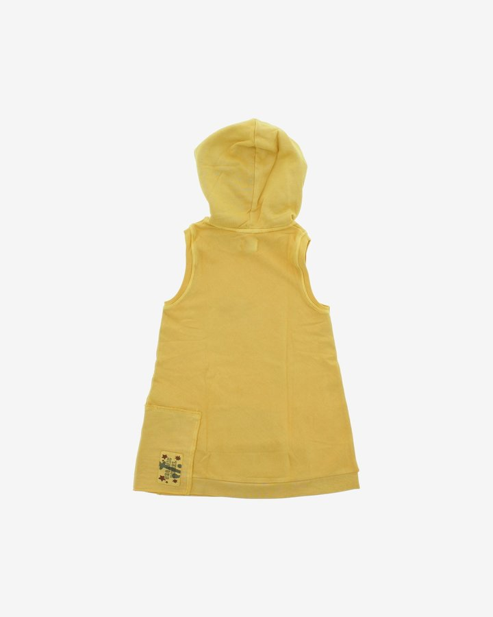 Žlutá dětská dívčí mikina s kapucí Diesel - velikost XXL