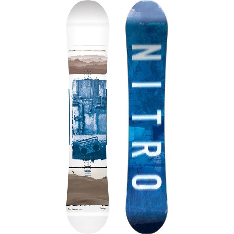 Snowboard bez vázání Nitro - délka 155 cm