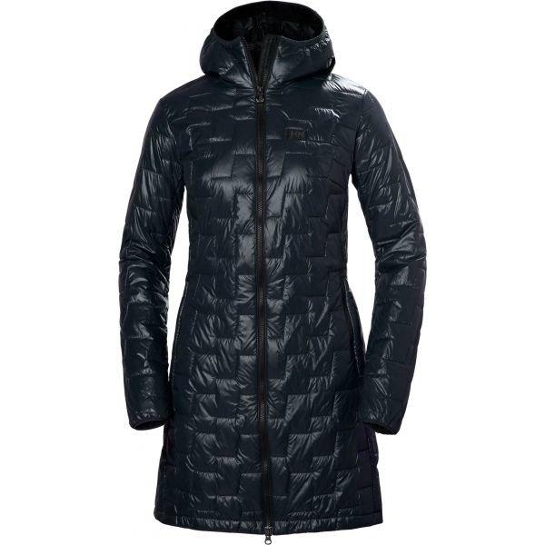 Modrý prošívaný dámský kabát Helly Hansen