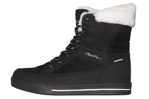 Černé dámské zimní boty Alpine Pro - velikost 40 EU