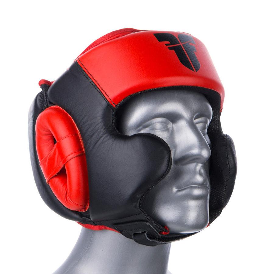 Černá boxerská přilba Fighter - velikost L