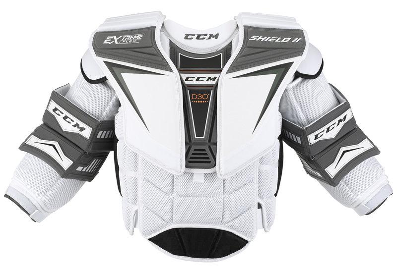 Brankářská hokejová vesta - senior EXTREME FLEX SHIELD II, CCM - velikost XL