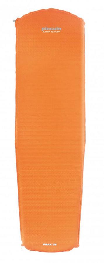 Oranžová samonafukovací karimatka Pinguin - tloušťka 3,8 cm
