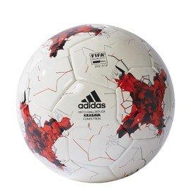 Bílo-červený fotbalový míč CONFEDCOMP, Adidas - velikost 4