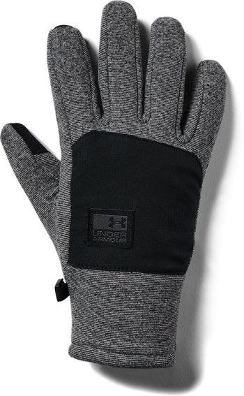 Černé pánské zimní rukavice Under Armour