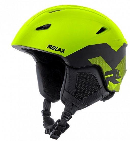 Žlutá lyžařská helma Relax
