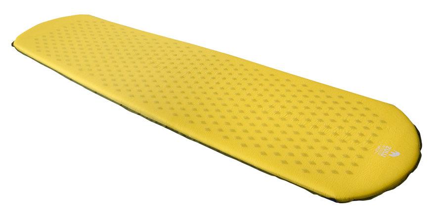 Žlutá samonafukovací karimatka Zulu - tloušťka 3,8 cm