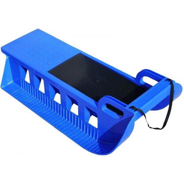 Modré plastové dětské sáňky Sport Team