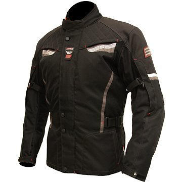 Černá pánská motorkářská bunda Tonga, Spark