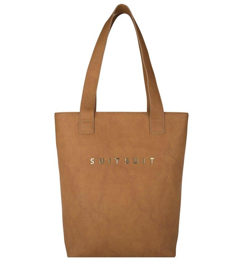 Hnědá dámská kabelka SUITSUIT