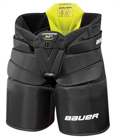 Černé brankářské hokejové kalhoty - junior Bauer
