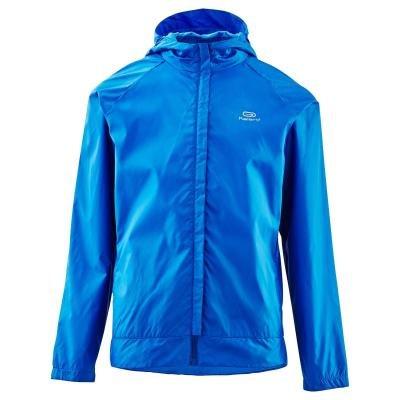 Modrá dětská bunda na atletiku Kalenji