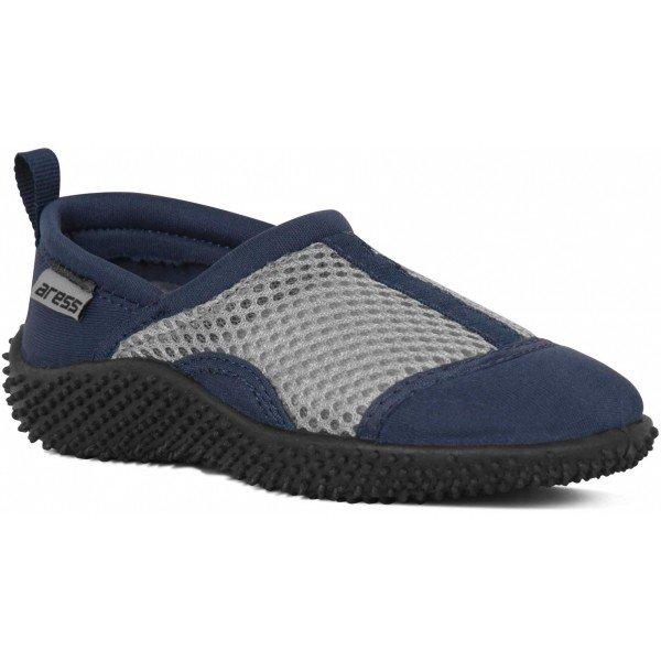 Modro-šedé dětské boty do vody Aress