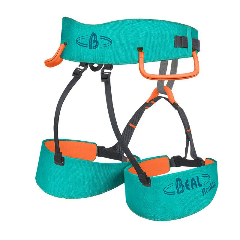 Modrý dětský horolezecký úvazek Beal