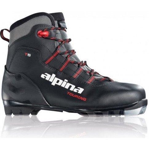 Černé pánské boty na běžky Alpina - velikost 44 EU