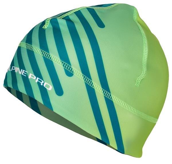 Zelená běžecká čepice Alpine Pro - velikost S