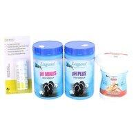 Bazénová chemie - VIII. Základní set na chlorové ošetření vody pro bazény do 20m3 (Triplex tablety PLOVÁK 720 g, tester, pH plus, pH minus)