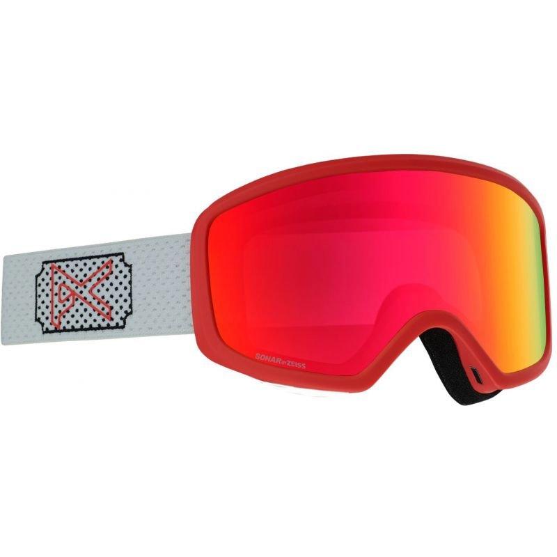 Bílé dámské lyžařské brýle Anon