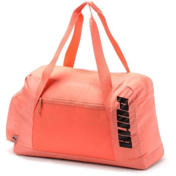 Oranžová sportovní taška Puma - objem 21 l