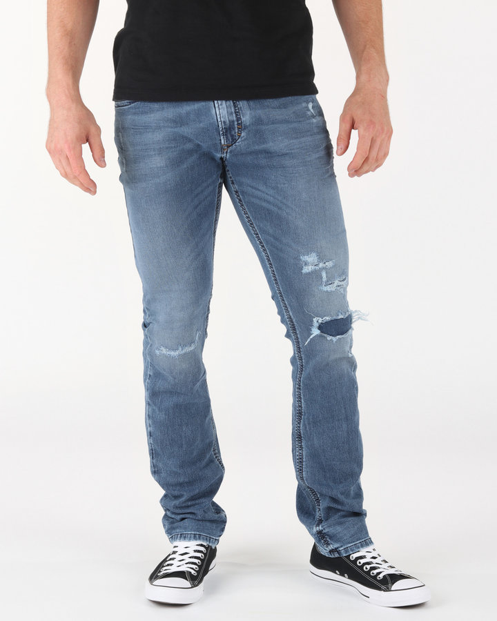 Modré pánské džíny Diesel