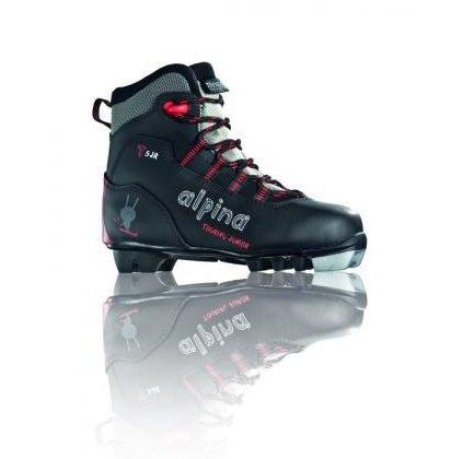 Černé dětské boty na běžky NNN Alpina