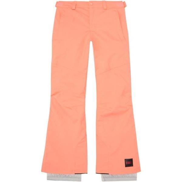 Růžové dívčí lyžařské kalhoty O'Neill