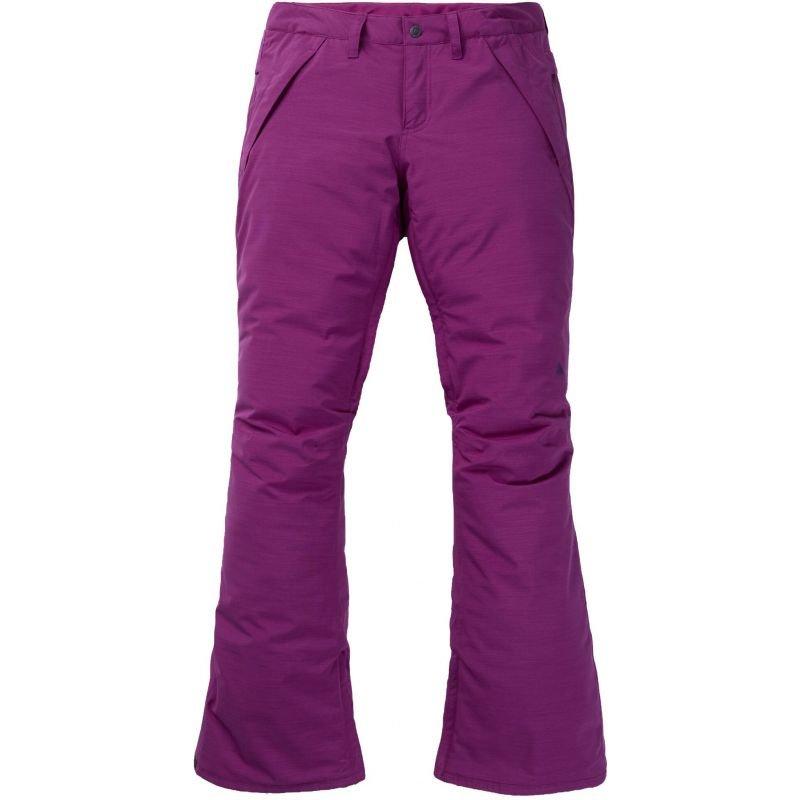 Fialové dámské snowboardové kalhoty Burton