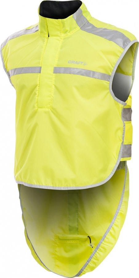 Reflexní vesta - Craft Visibility vesta M/L, reflexní žlutá