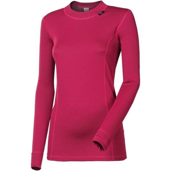 Růžové dámské funkční tričko s dlouhým rukávem Progress