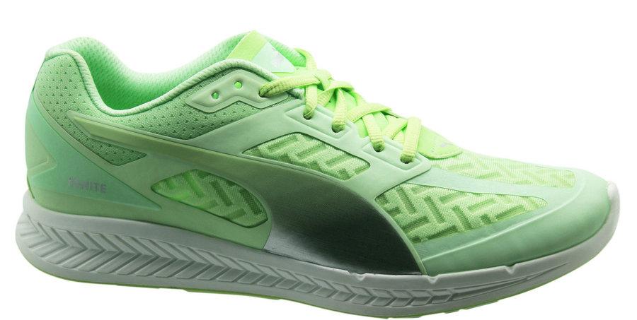Zelené dámské běžecké boty - obuv Puma - velikost 38 EU ... ee671da0f5a