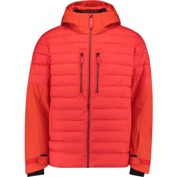Červená pánská snowboardová bunda O'Neill
