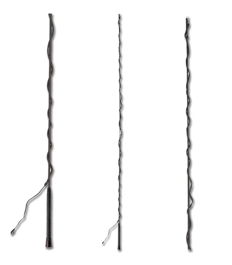 Černý lonžovací bič Waldhausen - délka 1,8 m