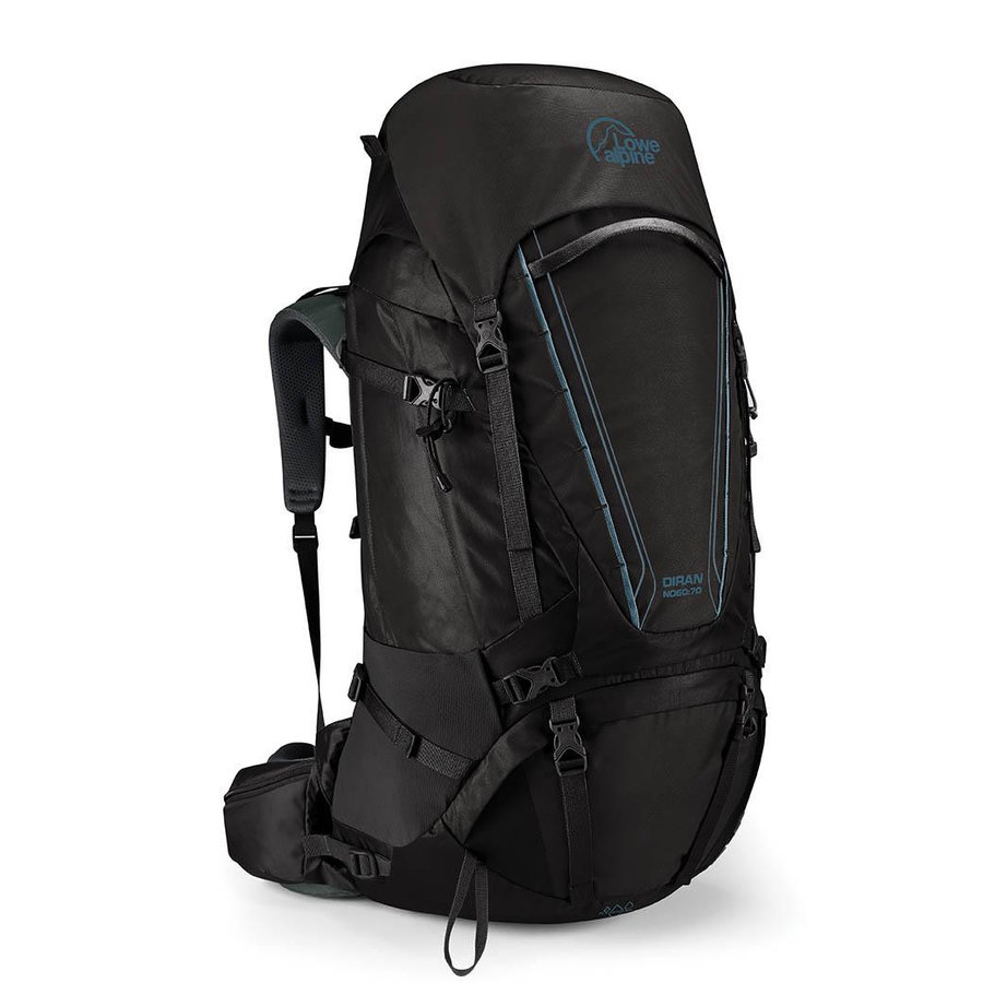 Batoh - Dámský batoh Lowe Alpine Diran ND 60:70 Barva: černá
