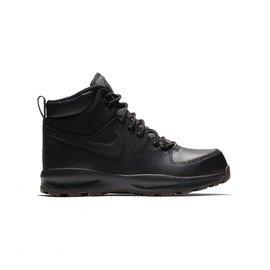 Černé dětské zimní chlapecké tenisky Nike
