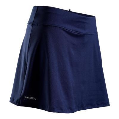 Modrá dámská tenisová sukně Artengo