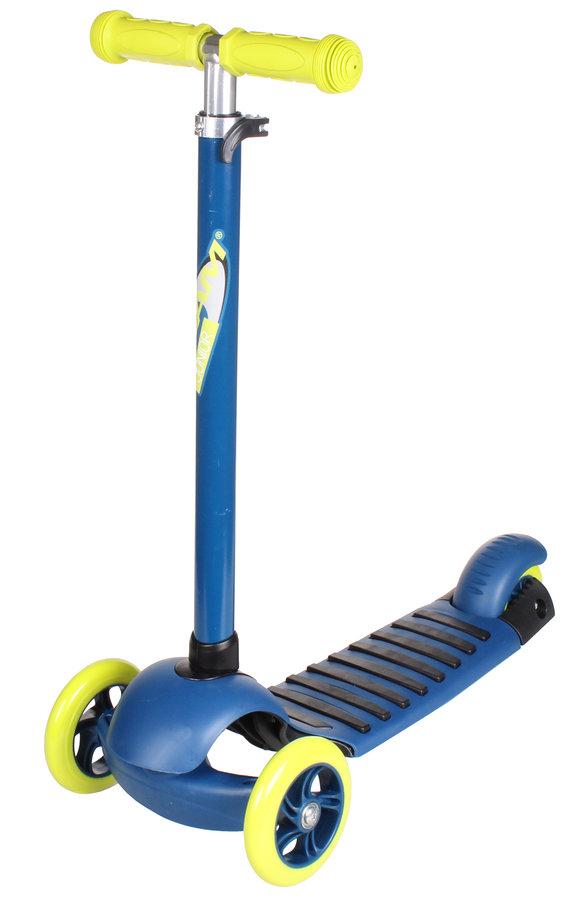 Modrá trojkoloběžka Nijdam - nosnost 50 kg