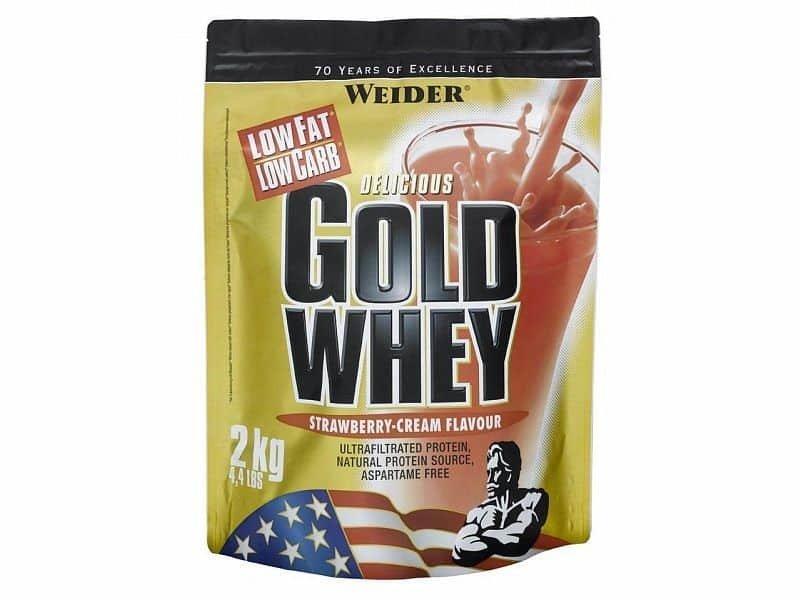 """Syrovátkový protein Weider """"čokoláda"""" - 2000 g"""