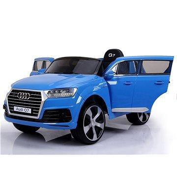 Modré dětské elektrické autíčko Audi Q7, Beneo