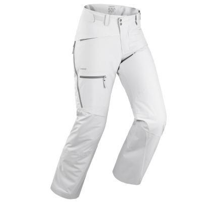 Šedé pánské lyžařské kalhoty Wed'ze