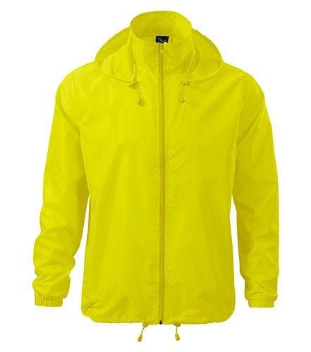 Žlutá cyklistická bunda Adler